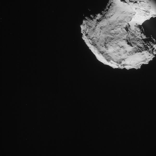 Comet On 2 September 2014 – NavCam (C)