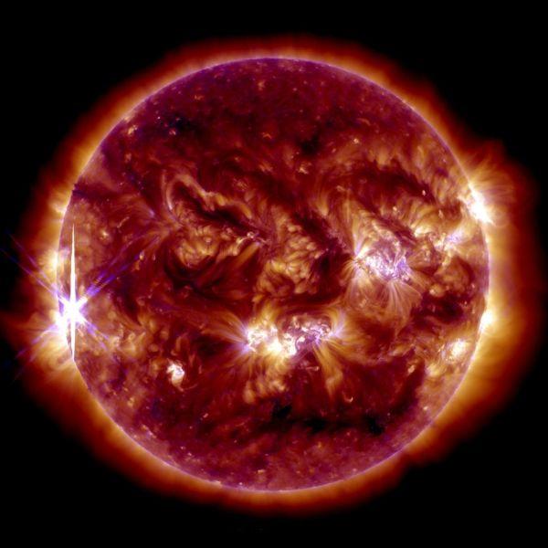 Solar Flare, Oct. 25, 2013