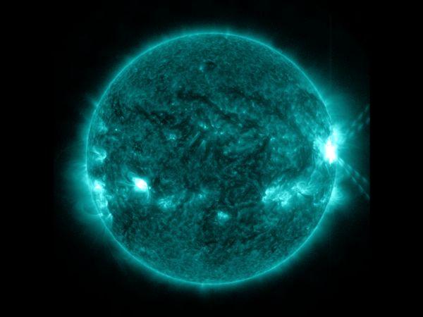 Solar Flare Oct. 27, 2013