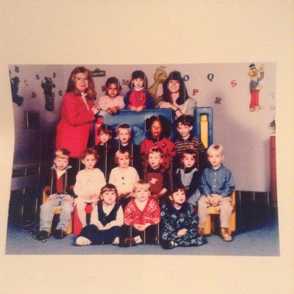 Shadow Person in Childhood Photo?