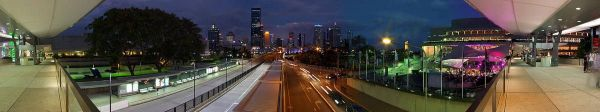 Brisbane Panorama at Dusk