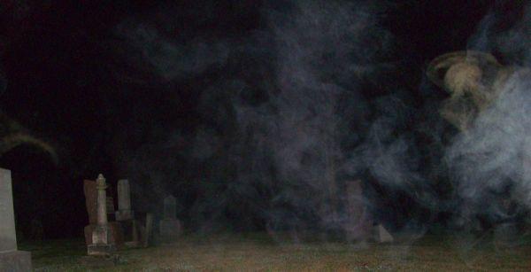 Cemetary mist