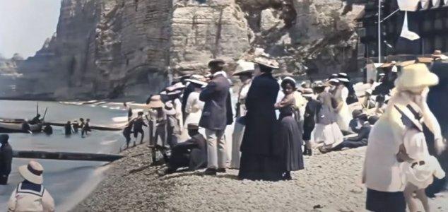 Restored 1899 footage is like a time machine News-1899-beach