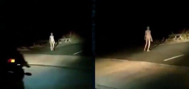 """Aparece en Internet un extraño vídeo de un """"extraterrestre"""" en Jharkhand (INDIA)"""