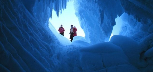 Deepest point on continental Earth discovered News-antarctic-caves