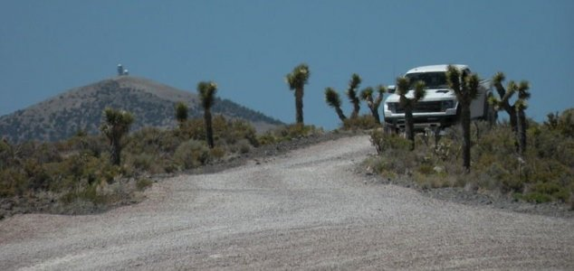 BBC film crew was held at gunpoint at Area 51 News-area-51-guards