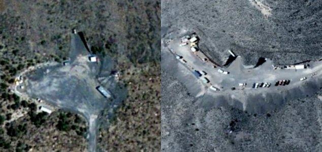 Descubiertas entradas subterráneas al Área 51