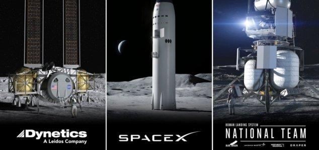 Firms compete to build next-gen lunar lander News-artemis-landers