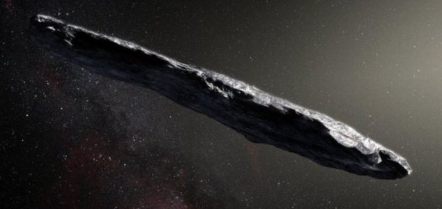 Interstellar visitor is red and very dark - Unexplained Mysteries