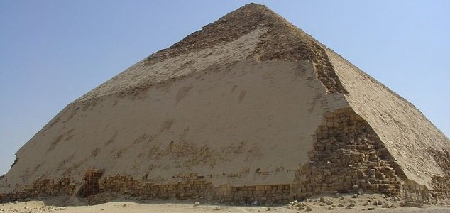 Egypt opens unusual 'bent' pyramid to visitors News-bent-pyramid