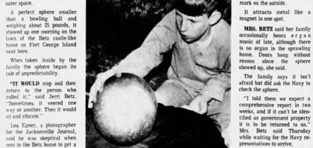 Was the 'Betz mystery sphere' an alien device ? News-betz-sphere