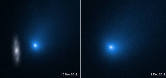New photographs of interstellar visitor revealed News-borisov-comet-2