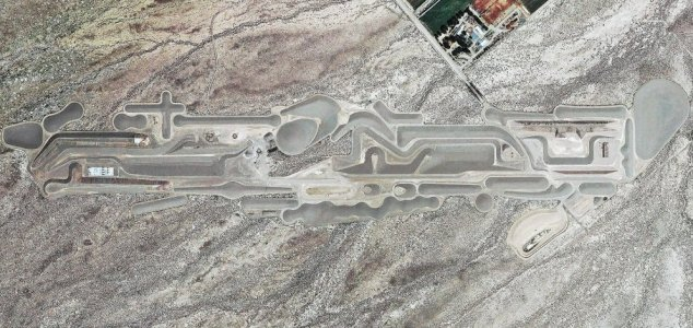 What is this strange structure near Area 51 ? News-city-area-51