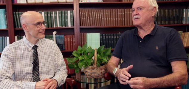 John Cleese on the possibility of life after death News-cleese-tucker
