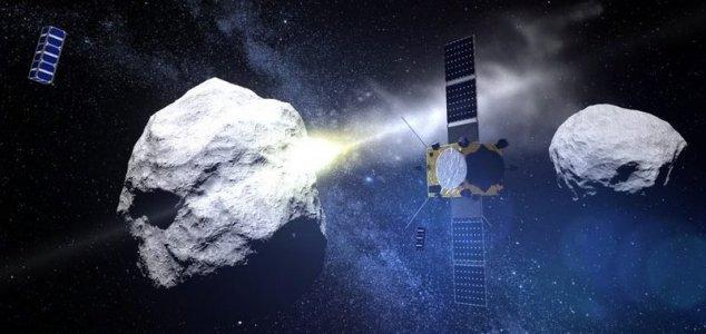 Probe to smash into an asteroid at 15,000mph News-dart-aida-hera