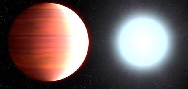 Scorching hot exoplanet 'snows' sunscreen - Unexplained Mysteries