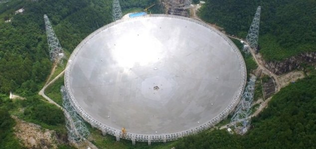 Giant telescope to join the search for alien life News-fast-telescope