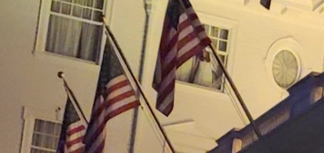 'Ghost' spotted in window at Stanley Hotel News-ghost-window-woman
