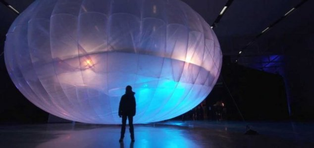 Mobile network balloon sparks UFO scare News-google-loon