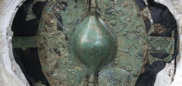 Celtic warrior unearthed in major Iron Age find News-iron-age-shield