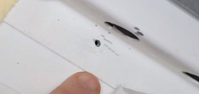 Cause of mystery ISS hole is a 'state secret' News-iss-drill-hole