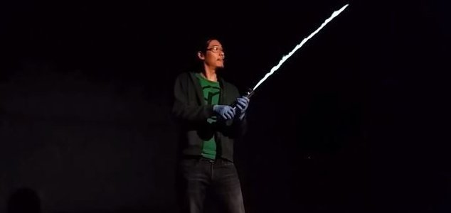 Inventor Builds Real Life Working Lightsaber Unexplained