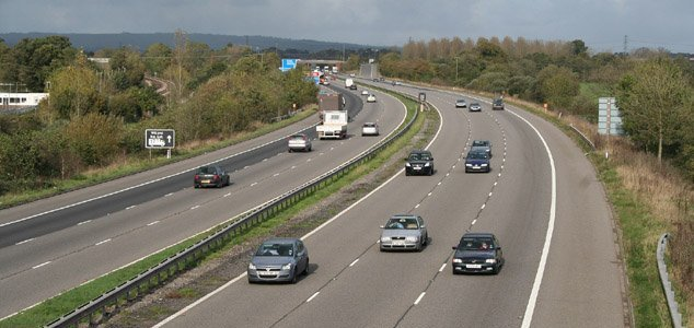 Ghosts and UFOs abound on the M5 motorway News-m5-motorway