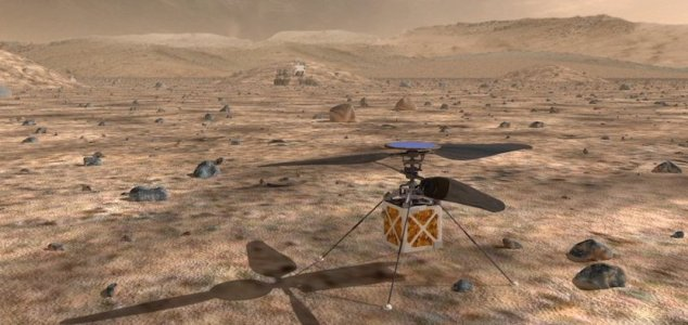 Ingenuity is still going strong after 9 flights News-mars-drone