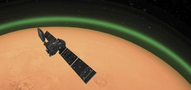 Green glow detected on Mars for the first time News-mars-green