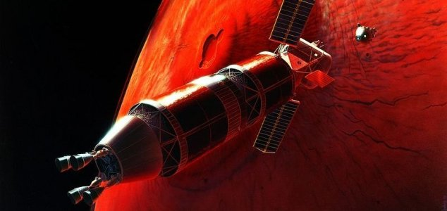 Musk: Mars settlers could trade in 'Marscoin' News-mars-ship