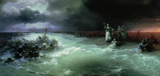 Old Testament 2, Lesson 9: Crossing the Red Sea - Seeds of ... |The Red Sea Crossing Heston