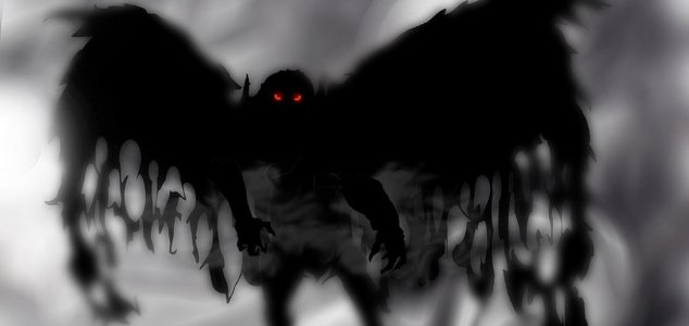 Witness recounts 'winged creature' encounter News-mothman-art
