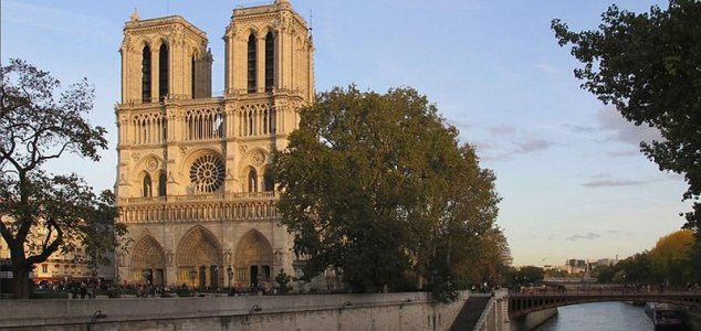 Parisian Cathedral of Notre Dame