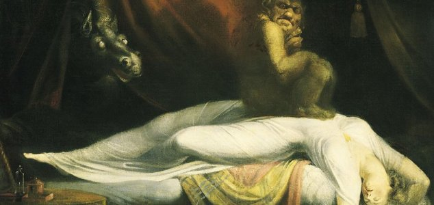 The terrifying creatures of sleep paralysis News-oldhag
