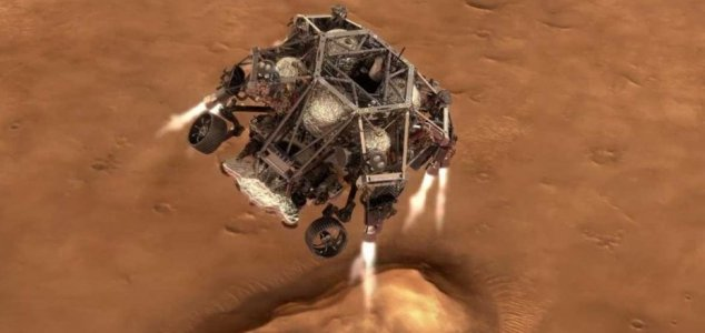 Perseverance rover is on target for Mars landing News-perseverance-land
