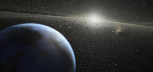 'Complex organic matter' found on asteroids News-planet-asteroids