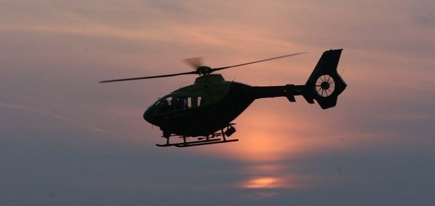 UK meteor sparks police hunt for plane crash News-police-copter