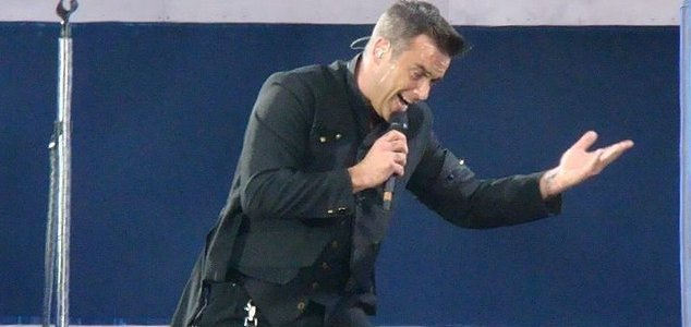 Robbie Williams song was inspired by ghosts - Unexplained