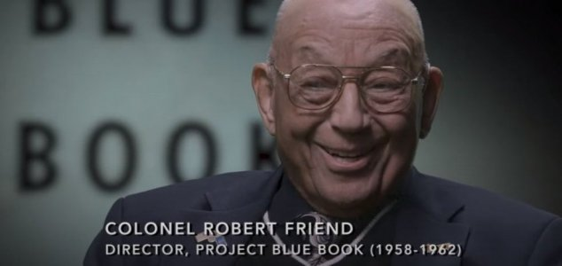 Late Lt. Col. hinted at fate of Project Blue Book News-robert-friend