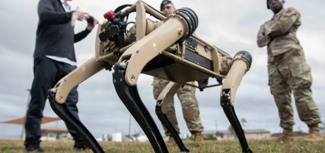US Air Force base is guarded by robotic dogs News-robot-dog-base