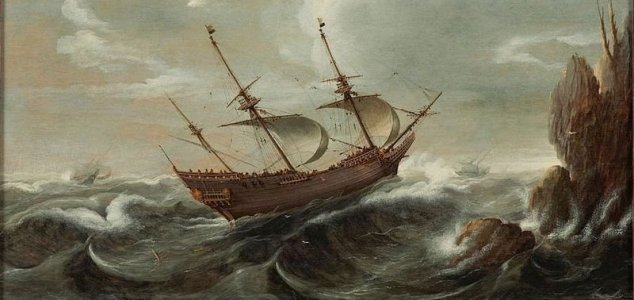 Fleet of shipwrecks found in the Mediterranean News-ship-17th-century