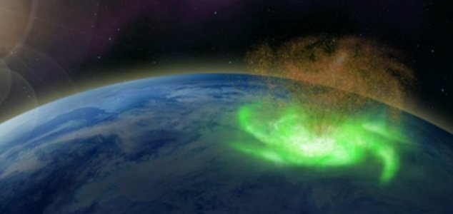 'Space hurricane' observed over the North Pole News-space-hurricanes