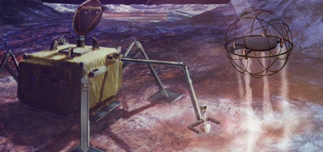 Steam-powered bot could explore icy moons News-sparrow-bot