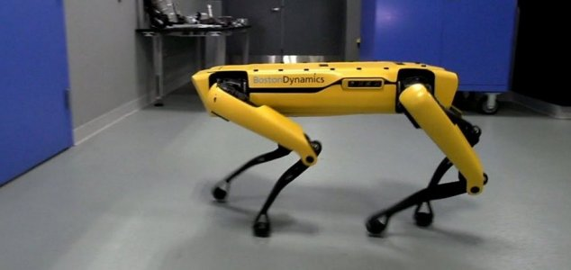 Best to keep your doors locked when this thing is around. Image Credit YouTube / Boston Dynamics & Boston Dynamics robot can now open doors - Unexplained Mysteries