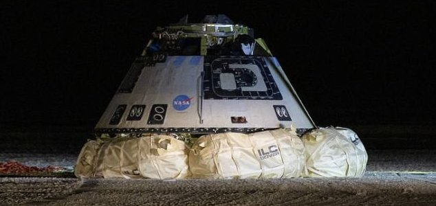 Boeing Starliner capsule fails to reach ISS News-starliner