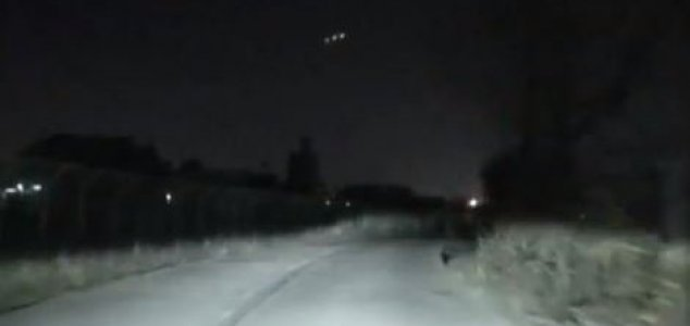 Mystery lights appear then vanish in new video News-three-lights