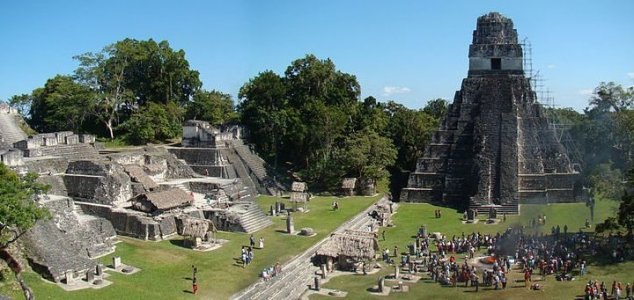 Oldest and largest Mayan structure discovered News-tikal