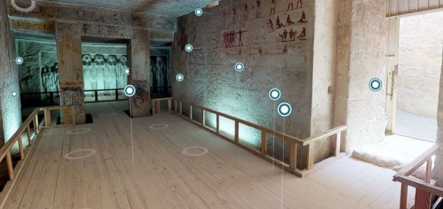 Virtual tour offers trip inside Egyptian tomb News-tombtour