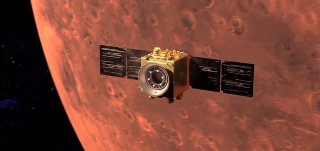Two probes arrive at Mars mere hours apart News-uae-probe