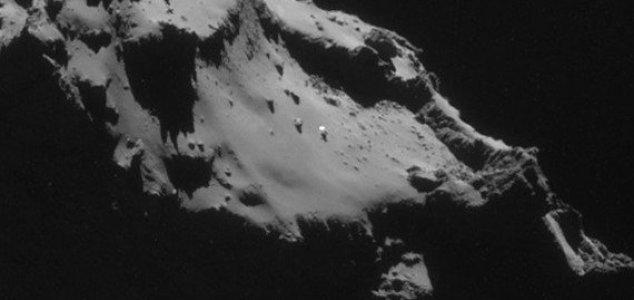 �Un OVNI en el cometa 67P Churyumov Gerasimenko?